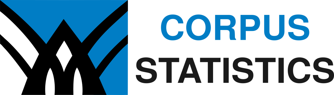 Link to the corpus and language statistics